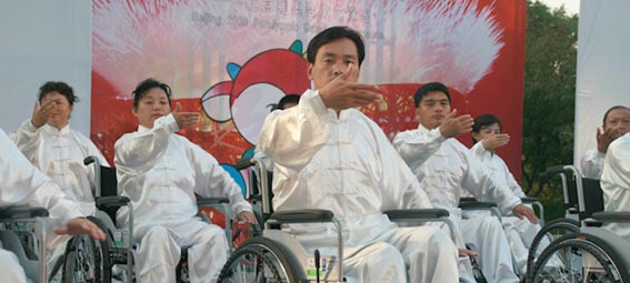 Wheelchair Tai Ji at 2008 Paralympics